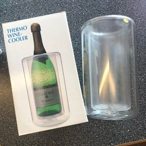 Thermo wine cooler.